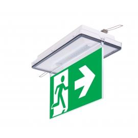 Lampa ewakuacyjna VELLA LED 3D 3H