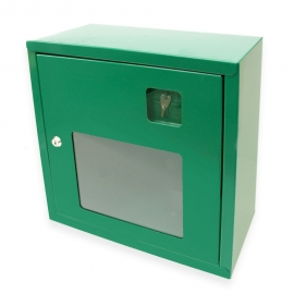 Szafka na defibrylator MB zielona