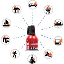 Spray gaśniczy REINOLDMAX 750ml + wieszak