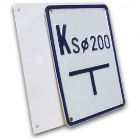 Konstrukcja 2D 135x195 metalowa