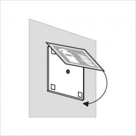 Wysięgnik do znaków 3D dystans 5x140x140mm