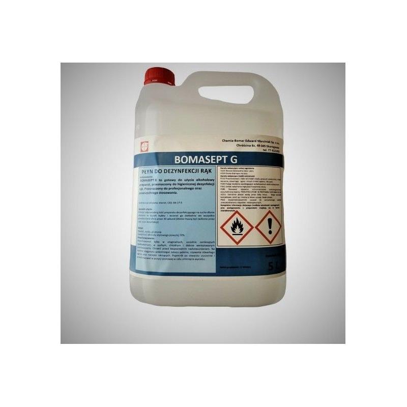 Płyn do dezynfekcji rąk 5L BOMASEPT-G