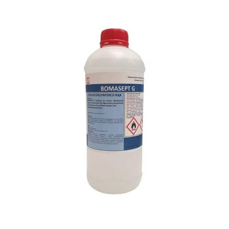 Płyn do dezynfekcji rąk 1L BOMASEPT-G