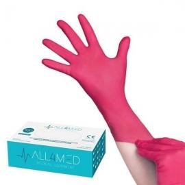 Rękawice jednorazowe nitrylowe bezpudrowe S