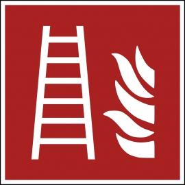 Znak F003 Drabina pożarowa plik elektroniczny