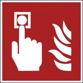 Znak F005 Alarm pożarowy plik elektroniczny