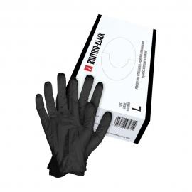 Rękawice jednorazowe nitrylowe bezpudrowe rozmiar