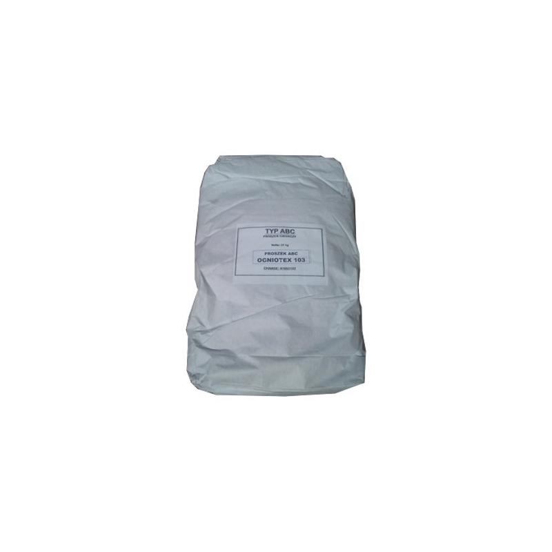 Proszek gaśniczy OGNIOTEX ABC 103 (niebieski)/25kg