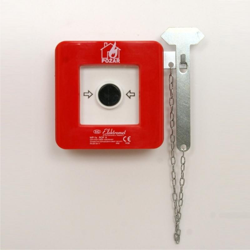 Wyłącznik alarmowy (POŻAR) (z młoteczkiem)