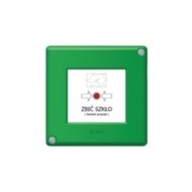 Przycisk blokowany zielony W0-PB-M0 XY Z
