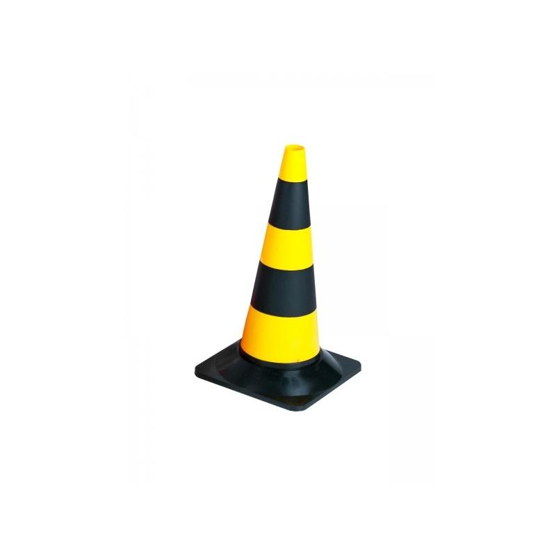 Pachołek 50 cm pe żółto-czarny