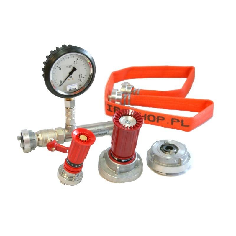 Zestaw do badania hydrantów wewnętrznych HTP-U1 kpl.