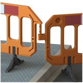 Bariera GATE 200x100 cm orange