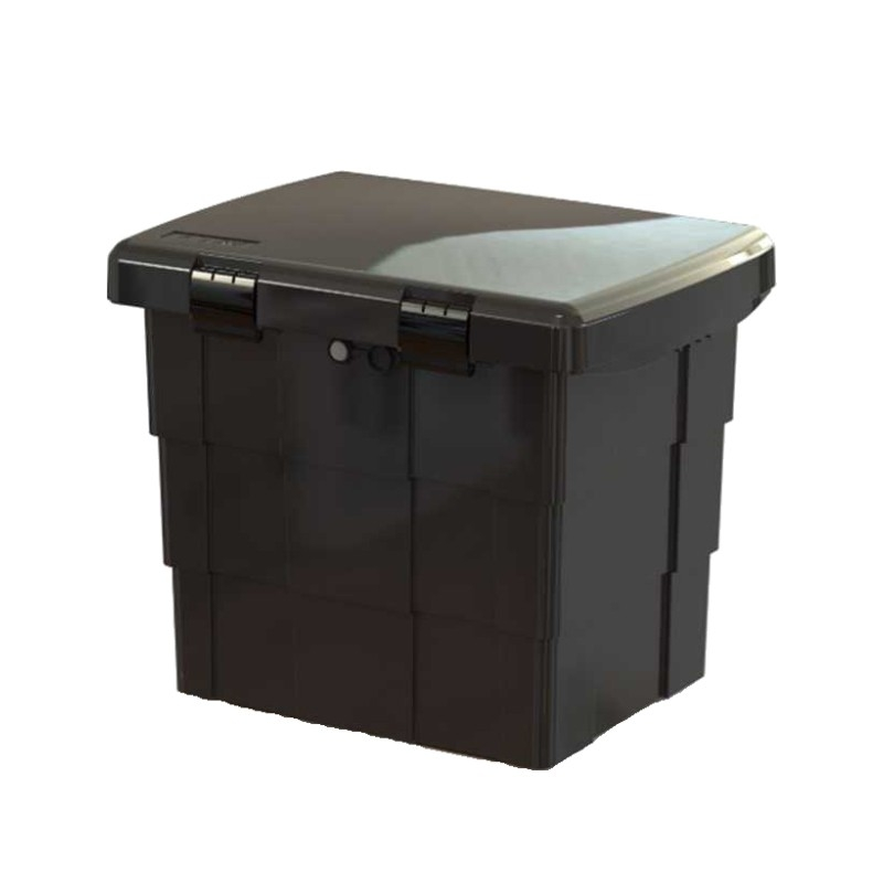 Skrzynia na sprzęt p.poż. BOX czarna