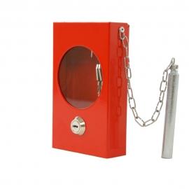 Szafka na klucz SKL- M + zbijak czerwona