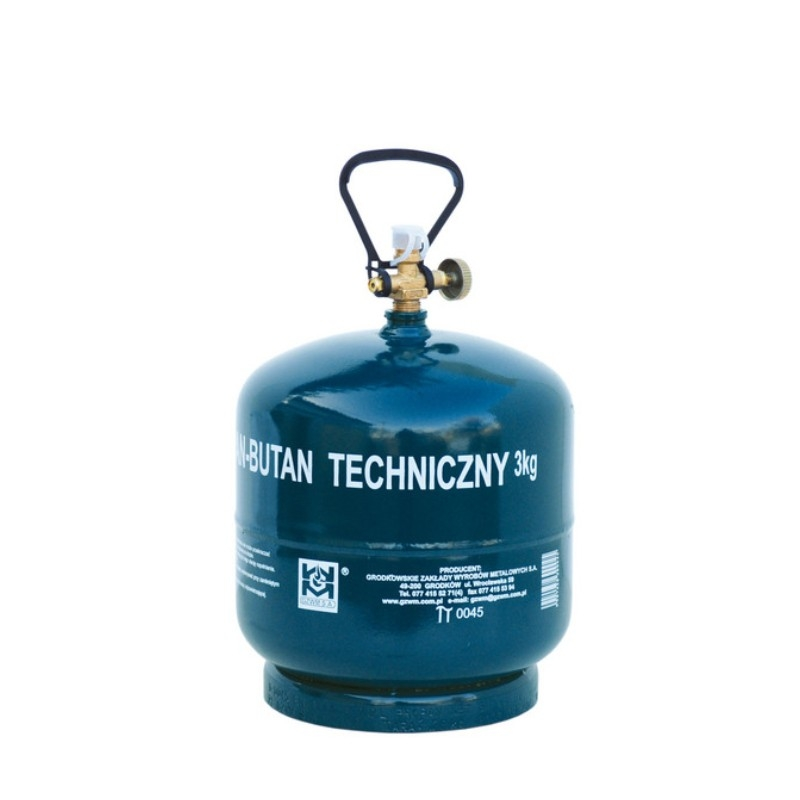 Butla gazowa turyst. 3kg BT-3