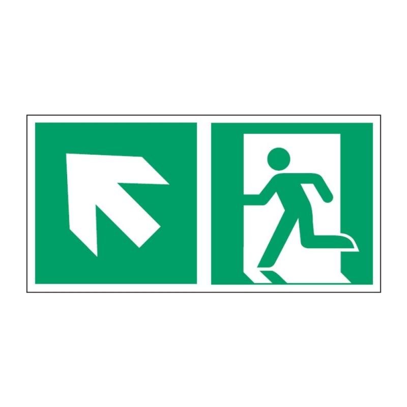 Znak Kierunek do wyjścia ewakuacyjnego E01-LG