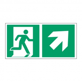 Znak Kierunek do wyjścia ewakuacyjnego E02-PG