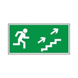 Znak 11 Kierunek ewakuacji schodami G-P