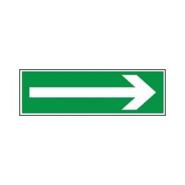 Znak 11 Kierunek drogi ewakuacyjna strzałka