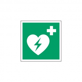 Znak Defibrylator (AED) E10 E010