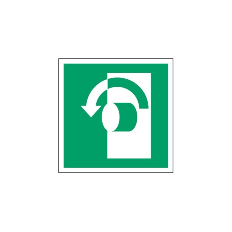 Znak E018 Przekręć w lewo aby otworzyć E18