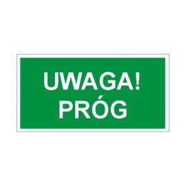 Znak 11 Uwaga Próg 300x150 FF