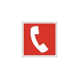 Znak Telefon alarmowy 150x150 PF