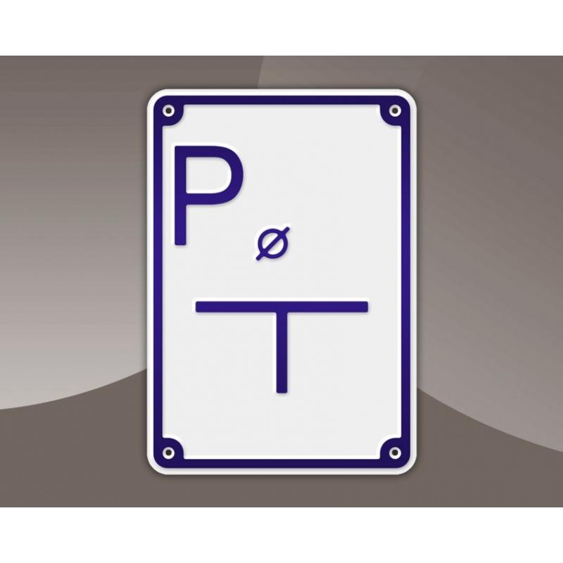 Tabliczka wodociągowa - Punkt pomiarowy