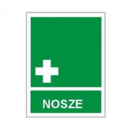 Znak Nosze 150x200 PB