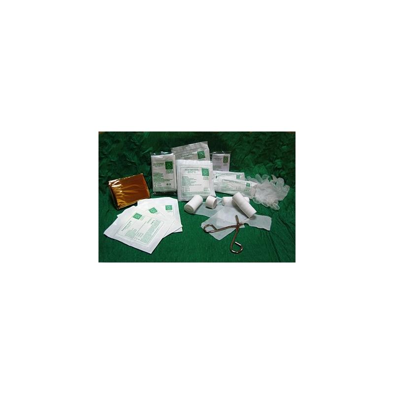 Wyposażenie - wkład apteczki DIN 13164