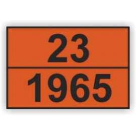 Tablica ADR 004 cyfrowa ŁA 300x400 AL