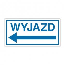 Znak Wyjazd (w lewo)