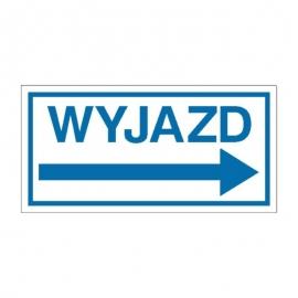 Znak Wyjazd (w prawo)