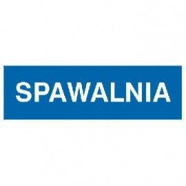 Znak Spawalnia 300x100 PB