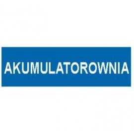 Znak Akumulatorownia 300x100 PB