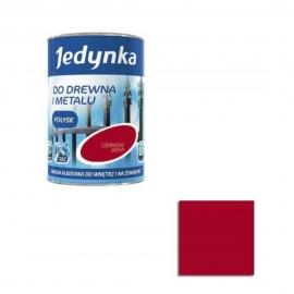 Farba emalia alkidowa Jedynka Czerwony Jasny 0,9l
