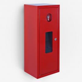 Szafka metalowa SG600 z oknem czerwona 3000