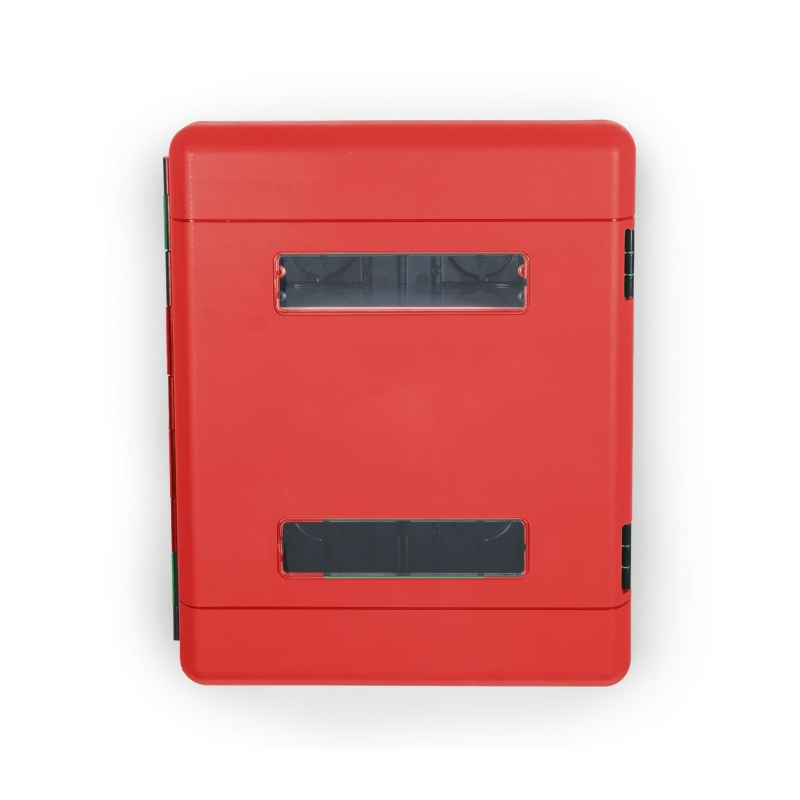 Szafka z tworzywa DUAL RED 616/735/270 z oknem