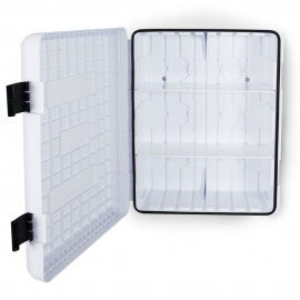 Szafka z tworzywa DUAL WHITE 616/735/270 bez okna biała