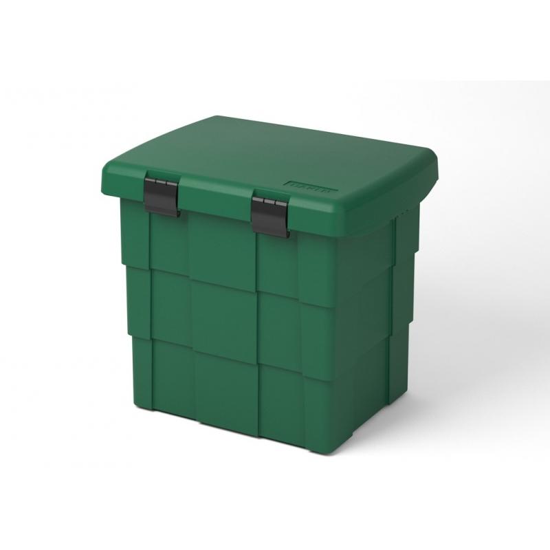 Skrzynia na sprzęt p.poż. BOX zielona
