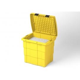 Skrzynia na sprzęt p.poż. BOX żółta
