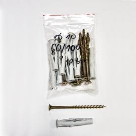 Kołki rozporowe fi10 6/100 - 10 sztuk