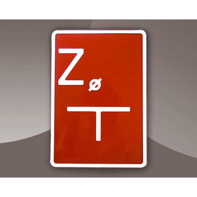 Tabliczka wodociągowa - Zasuwa C/B Aluminium