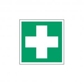 Znak Apteczka Pierwsza pomoc medyczna E03 E003