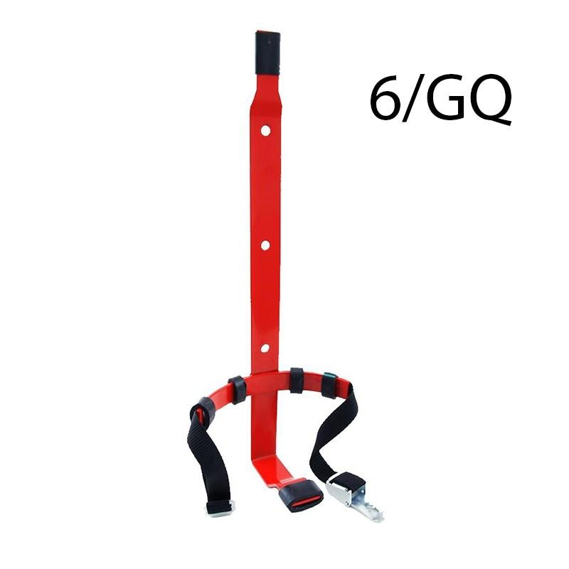 Wieszak gaśnicy GP 6 z opaską - zap. GQ