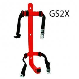 Wieszak gaśnicy GS-2 z opaską - zap. G