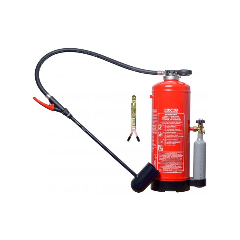 Gaśnica proszkowa GP-12  D GL do gaszenia metali
