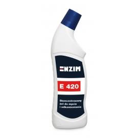 E420 Skoncentrowany żel do mycia i odkamieniania 0,75L