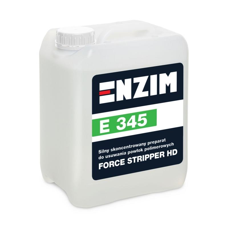 E345 Silny skoncentrowany preparat do usuwania powłok polimerowych FORCE STRIPPER HD